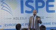 Drejtori i Telekomit të Kosovës Agron Mustafa mbajti ligjëratë për studentët e ISPE-së